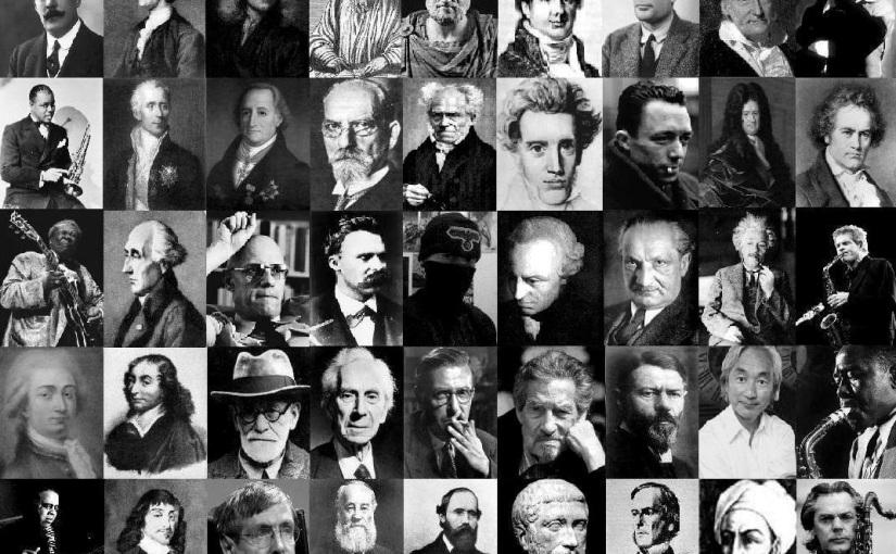 """""""O filósofo brasileiro"""", por ClaudioUlpiano"""